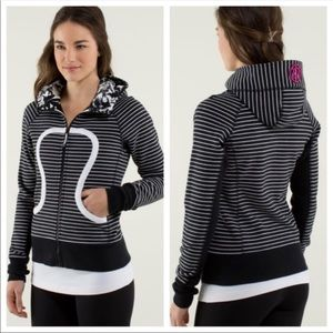 Lululemon Stripped Scuba Sweater